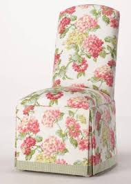 Skirted Parsons Chairs With Arms by Skirted Parsons Chair