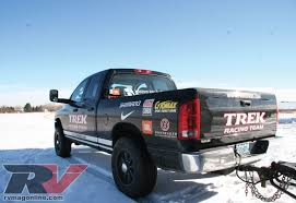 100 Sport Truck Rv 2005 Dodge Ram 2500 Cummins Trek Racing Trailer Working S