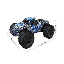 100 Best Rc Monster Truck High Speed 120 30kmh Remote Control Car RC Electric