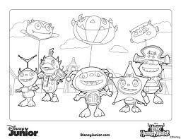 Best Disney Junior Coloring Pages 18 On Picture Page With