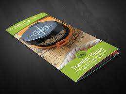 Traveler Guide Trifold Brochure