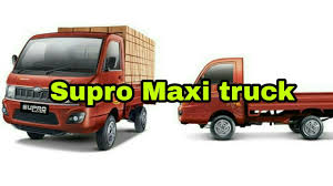Mahindra Supro Maxi Truck Plus 2018. - YouTube