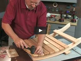 knockdown chair build this unique collapsible lawn chair on vimeo