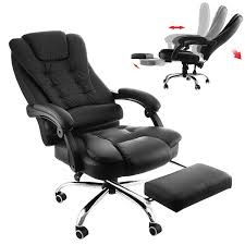 BestEquip Executive Office Chair With Footrest PU Leather High-Back ... Invicta Office Chair Xenon White Shell Leather Lumisource Highback Executive With Removable Arm Covers Sit For Life Tags Star Ergonomic Family Room Amazoncom Btsky Stretch Cushion Desk Chairs Seating Ikea Costway Pu High Back Race Car Style Merax Ergonomic Office Chair Executive High Back Gaming Pu Steelcase Leap Reviews Wayfair Shop Ryman Management Grand By Relax The Ryt Siamese Cover Swivel Computer Armchair
