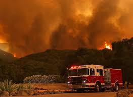 Live Oak Pumpkin Patch Fire by Whittier Fire 10 823 Acres 25 Contained Ksby Com San Luis