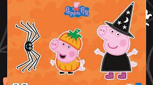 Peppa Pig Pumpkin Carving Ideas by Peppa Pig Halloween Decorations For Preschoolers