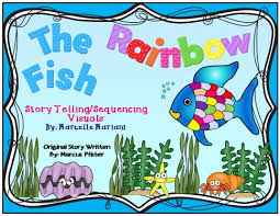 FREE The Rainbow Fish Story Telling Sequence And Re Props If You
