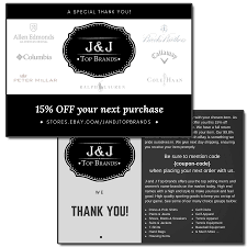 J&J EBay Store Promotional Flyer - ENDURTECH Web Design ... Tanger Outlets Back To School Coupon Codes Extra 25 Off Brooksrunning Com Code Forever21promo Brooks Brothers Free Shipping Frontier 15 Off Nerdy Colctibles Coupons Promo Discount Brothers Usa September2019 Promos Sale Coupon Code Boksbrothers September 2018 Customer Marketing Coupons Sales And Promo Codes Save Money On Your Wedding Giftcardscom Wcco Ding Out Deals Heres How I Save Money Ralph Lauren Wikibuy Up 50 Working Vistaprint 2019