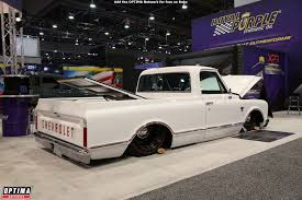 Lowered Chevrolet Pickup Truck At The 2017 SEMA Show In Las Vegas ... 1958 Chevy Viking Truck At This Years Sema Show 2017 Superfly Autos Sema Coverage Big Squid Rc Car And News American Force Has A Major Presence At Show Torqued Magazine Gallery Trucks Autoweek Top 5 Of The Offroadcom Blog Ford Super Duty Show Lineup The Fast Lane Countdown Biggest Automotive Days Away Diesel Tech 2008 Gmc 2500hd Duramax Northwest Motsport Youtube Ebay First Up For Grabs Lifted 2012 Ram 2500 Ebay Find 2014 Sale Army Duke Is A 72 C50 Transformed Into One Bad Work Pickup In Photos 4x4s Run Bigger Meaner