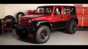 Custom Jeep JK Wrangler Unlimited Hardbody Scale RC Truck - Video ...