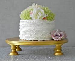 Gold Cake Stand 16 Wedding Topper