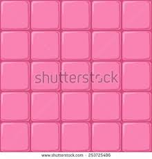 Seamless Pink Background With A Pattern Of Tiles For The Bathroom