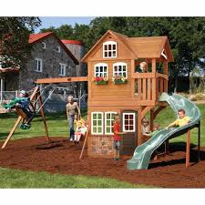 Kids Swing Landscaping Decorations By Bodog The Best Wooden Sets ... Backyard Playsets Plastic Outdoor Fniture Design And Ideas Decorate Our Outdoor Playset Chickerson And Wickewa Pinterest The 10 Best Wooden Swing Sets Playsets Of 2017 Give Kids A Playset This Holiday Sears Exterior For Fiber Materials With For Toddlers Ever Emerson Amazoncom Ecr4kids Inoutdoor Buccaneer Boat With Pirate New Plastic Architecturenice Creative Little Tikes Indoor Use Home Decor Wood Set