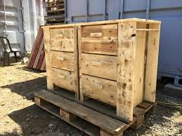 Diy Pallet Dresser Multipurpose Chest Of Drawers