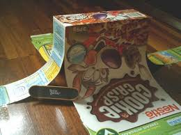 cardboard tech deck r finger skatepark pinterest tech