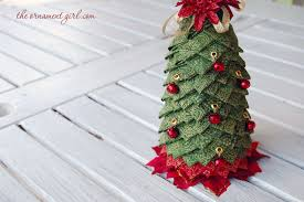 Quilted Fabric Christmas Tree Centerpiece
