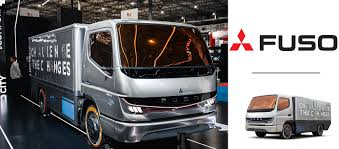 100 Mitsubishi Commercial Trucks Fuso Presents Its First Fuel Cell Concept Truck