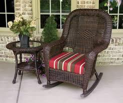 Wayfair Furniture Rocking Chair by Outdoor Resin Wicker Rocking Chairs Concept Home U0026 Interior Design