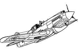 Airplane Coloring Pages Big Aircraft