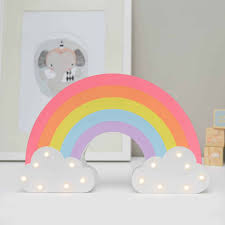 rainbow light up wall stickers for wall decals