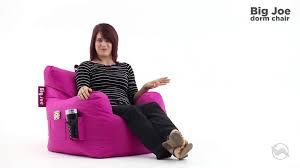 big joe dorm chair youtube