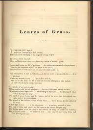 The Wound Dresser Summary Shmoop by Leaves Of Grass Poem Full All About Grass