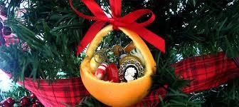 How To Make Christmas Ornaments Orange Baskets