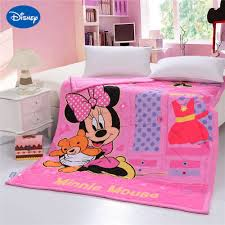 Minnie Mouse Bed Decor by Online Get Cheap Bedroom Quilts Comforters Aliexpress Com