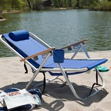 Rio Gear Backpack Chair Blue by Rio Wearever Steel Hi Back Backpack Beach Chair Hayneedle