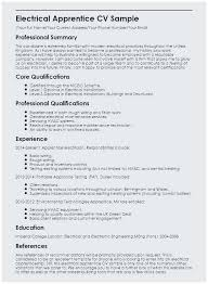 Sample Resume For Electrical Maintenance Technician Best Electrician Electricians
