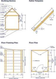 8x12 Storage Shed Blueprints by 8x12 Shed Blueprints Foundation And Flooring Farm And Beach