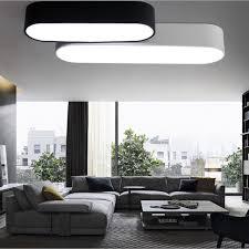 bureau du logement rectangle led plafond lumières bar design moderne bureau plafonnier