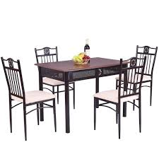 5 Pcs Dining Set Wood Metal Table And 4 Chairs With Cushions Jack Daniels Whiskey Barrel Table With 4 Stave Chairs And Metal Footrest Ask For Freight Quote Goplus 5 Pcs Black Ding Room Set Modern Wooden Steel Frame Home Kitchen Fniture Hw54791 30 Round Silver Inoutdoor Cafe 0075modern White High Gloss 2 Outdoor Table Chairs Metal Cafe Two Stock Photo 70199 Alamy Stainless 6 Arctic I Crosley Kaplan 4piece Patio Seating Oatmeal Cushion Loveseat 2chairs Coffee Rustic And Pieces Glass Tabletop Diy Patterns Pads Brown Tufted Target Grey