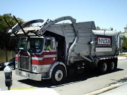 Front End Loader Garbage Trucks - YouTube