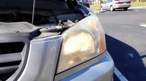honda pilot headlight bulb replacement diy