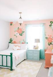 peindre mur chambre peinture chambre fille 12 idées modernes et féminines