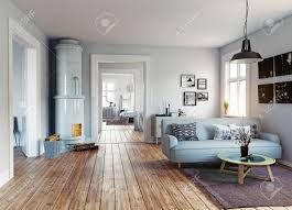 100 Scandinavian Desing The Modern Interior Design Style 3d Rendering Stock