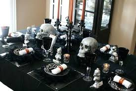 Halloween Tables Decoration Dark Color Table Decorations Impressive Decorating Dining Room For Times Game