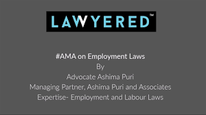 100 Ama Associates AMA Ask Me Anything On Employment Laws By Advocate Ashima Puri