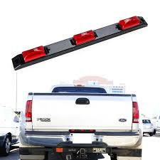 100 Running Lights For Trucks IJDMTOY Super Red 9LED Truck Bed Mounted Rear Center
