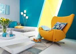 wohnzimmer blau einrichten baur