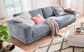 sofa san francisco in hellblau mit 84 cm sitztiefe
