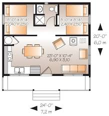 Cabin Style House Plan 2 Beds 1 00 Baths 480 Sqft 23 2290 528 Sq