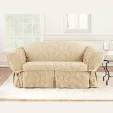 Sure Fit Sofa Cover 3 Piece by Furniture Slipcovered Loveseat Loveseat Slipcover Navy Blue