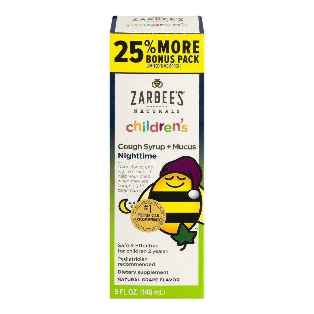 Zarbee's Naturals Children's Nighttime Cough Syrup - Grape, 5oz