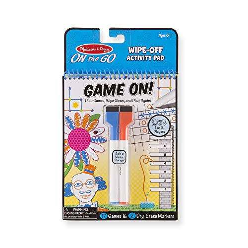 Melissa & Doug Write on Reusable Games Pad