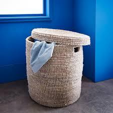 panier a linge bleu les 25 meilleures idées de la catégorie paniers à linge de salle