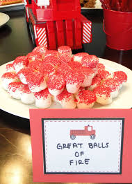 Firetruck Party Theme Food Ideas