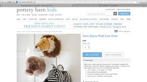 Petition Update · Pottery Barn Kids Pulls Jenni Kayne Plush Animal ... Pottery Barn Buy More Save Sale Up To 25 Off Fniture Black Friday 2017 Deals Christmas Sales The Best Promo Codes Setting For Four Pbteen Coupon 20 Ae Coupons Exceptional Store Today Fire It Grill With Bath Body Works Bedroom Hudson Style Sofas Popular Kids Messaging Code La Mode Spldent Barn Georgia Bar Cabinet By Erkin_aliyev 3docean All Rugs Australia Free Shipping Promo Code On Cyber Monday Gift Of