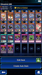 yu gi oh duel links building a ghostrick deck player one